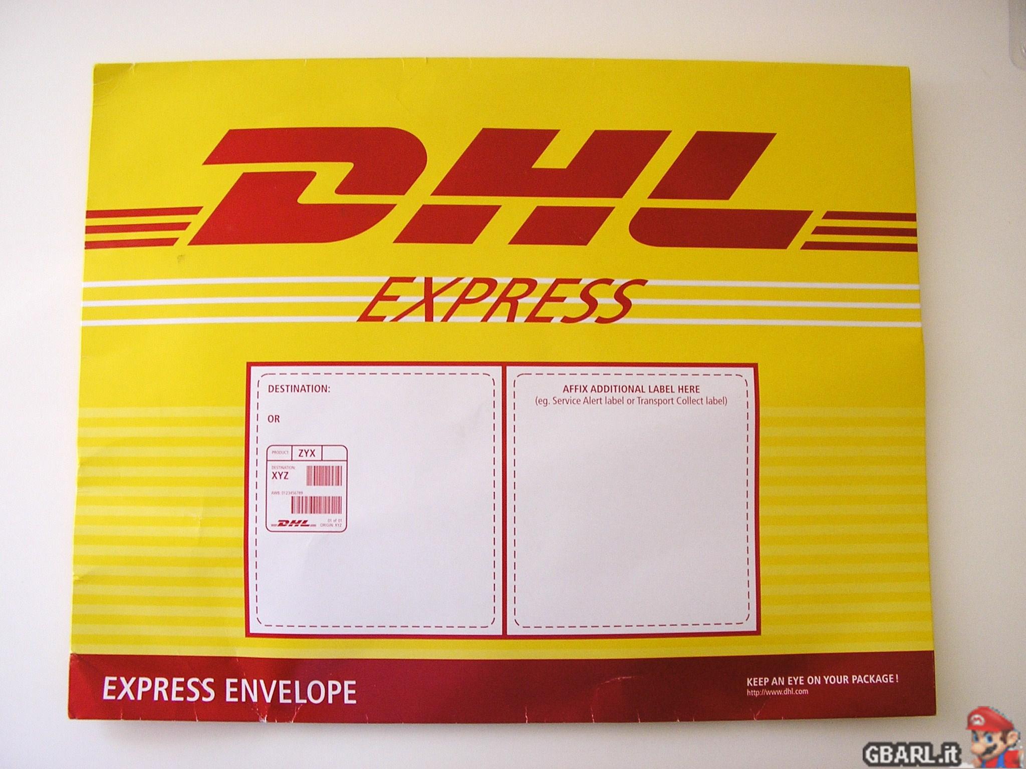dhl express pack. Black Bedroom Furniture Sets. Home Design Ideas