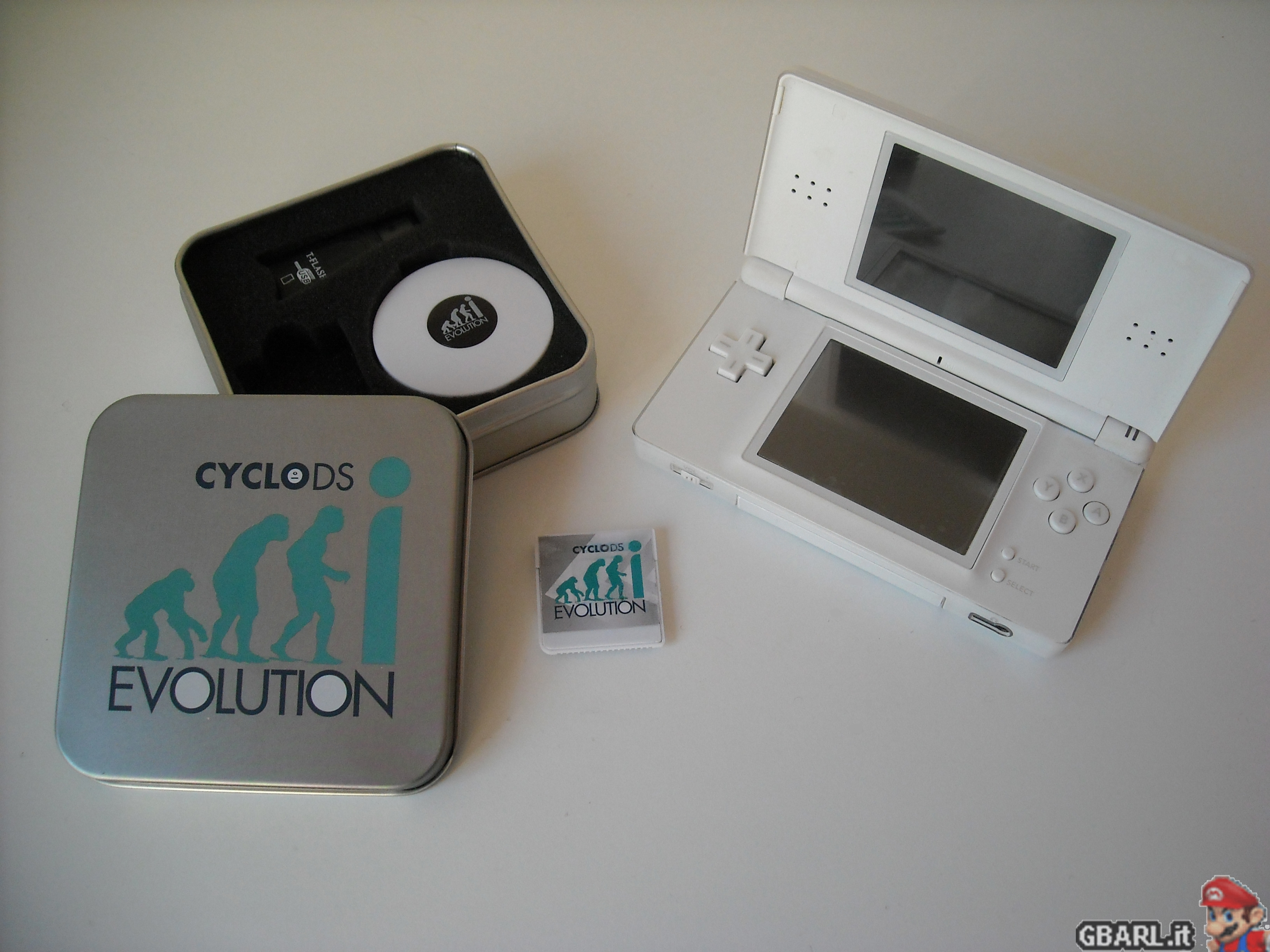 CycloDS Evolution / iEvolution Firmware v2.2 - .: GBArl.it ...